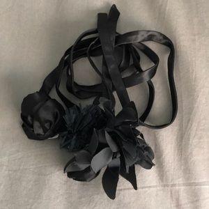 JCrew tie belt